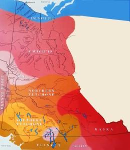 Yukon Language Map